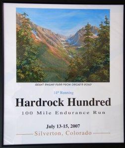 2007 finishers print